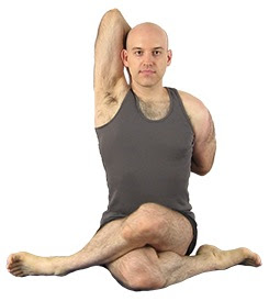 Yoga Guy pose