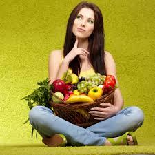 girl w fruit