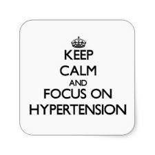 keep calm hypertension