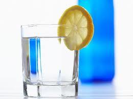 water w lemon