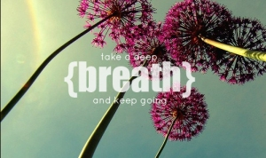 deep breath quote