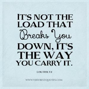 stress quote holtz
